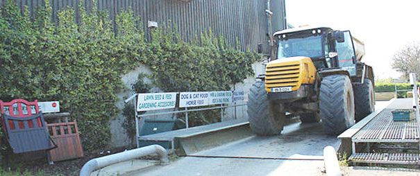 vehicle weighbridge at whites agri lusk