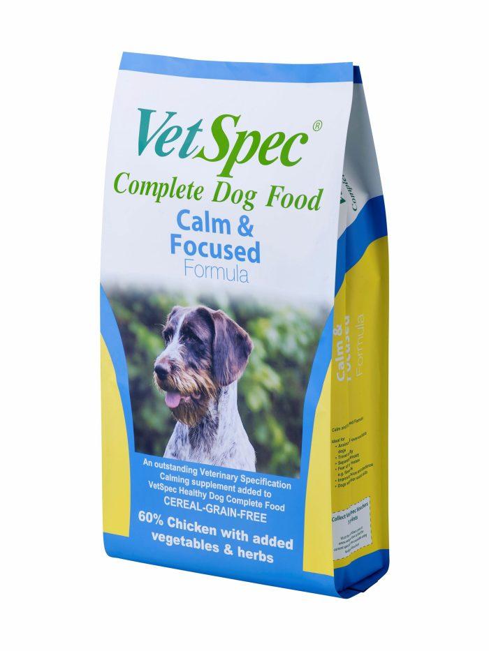 VetSpec Calm & Focused Dog Food