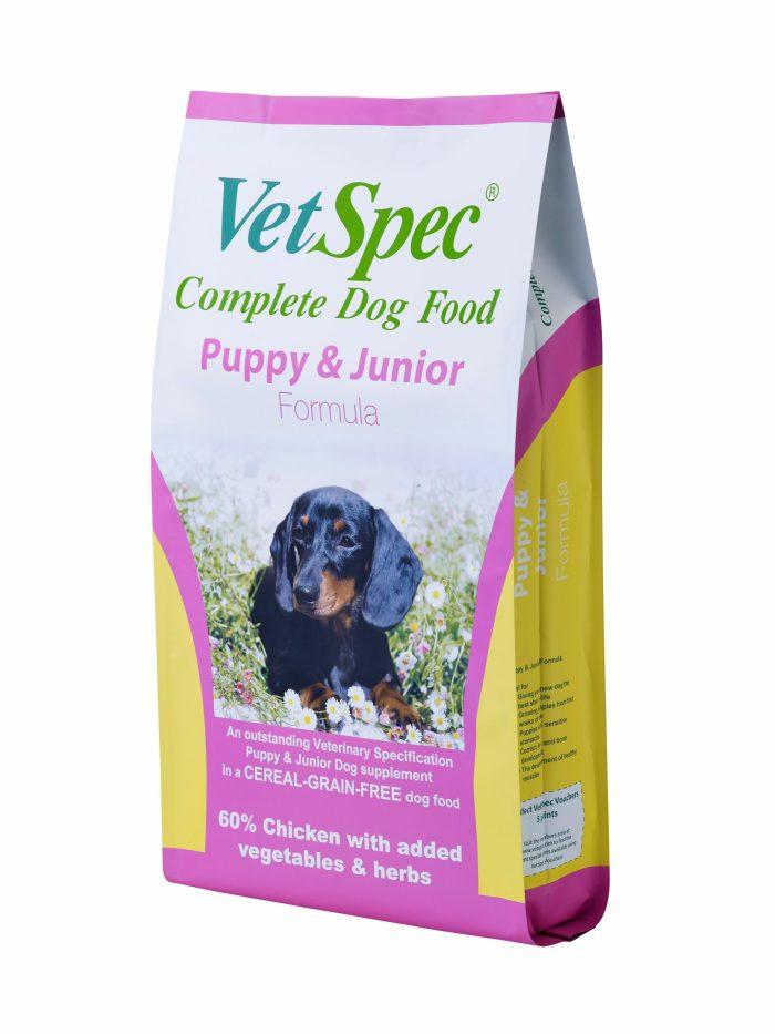 VetSpec Puppy & Junior Dog Food