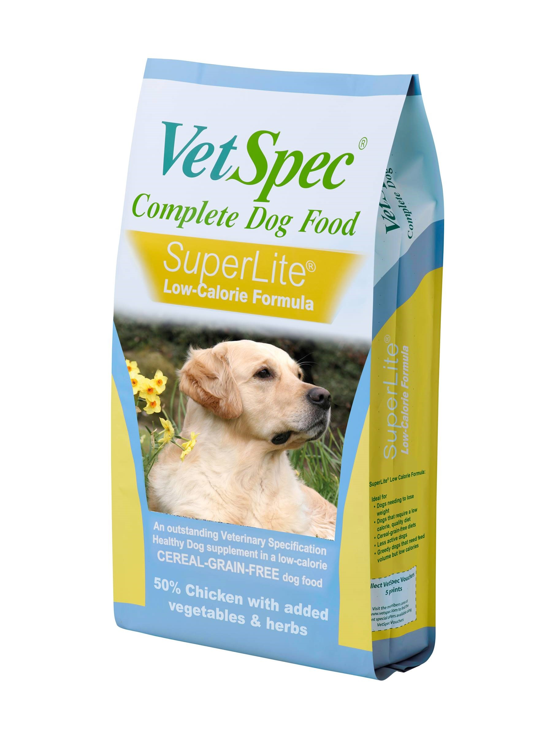 VetSpec SuperLite Low Calorie Dog Food