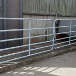 Galvanised Double Field Gate
