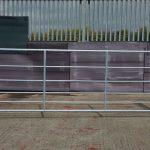 GL4 Medium Galvanised Gate